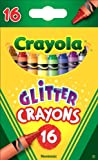 Glitter Crayons- Glitter Crayons 16Ct From Crayola (Part Number 52-3716)