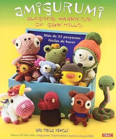 Amigurumi. Alegres muñecos de ganchillo (Muñeco Ganchillo Amigurumi)