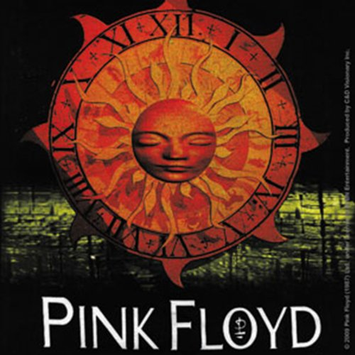 Licenses Products Pink Floyd Sun Sticker