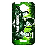 Green Day Cool Punk Rock Band HTC one x Case Cover Best Protective Durable Hard Plastic Cover