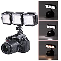 Neewer® CN-LUX360 5400K Dimmable LED Video Light Lamp for Canon Nikon Camera DV Camcorder (3PCS) by Neewer