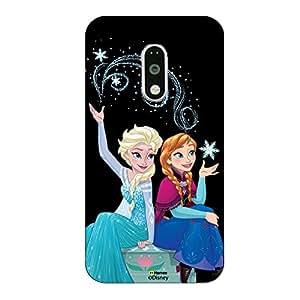 Hamee Disney Princess Frozen Official Licensed Designer Cover Hard Back Case for OnePlus 2 ( Elsa Friends Magic 3 )