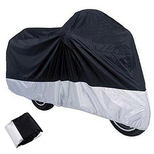 XXXL Indoor Outdoor Motorcycle Cover + Storage Bag For Harley Davidson Honda Kawasaki Suzuki Yamaha (Harley Ultra Classic Cover compare prices)