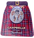 CAMPBELLS SHORTBREAD - ALL BUTTER SHORTBREAD KILT TIN 150G - SC066