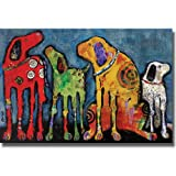 Best Friends by Jenny Foster Premium Stretched Canvas (Ready to Hang)