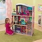 KidKraft Glitter Dream Dollhouse w/ Furniture - 65086