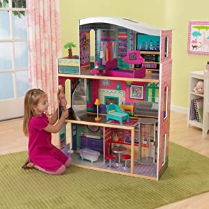 KidKraft Glitter Dream Dollhouse w/ Furniture - 65086