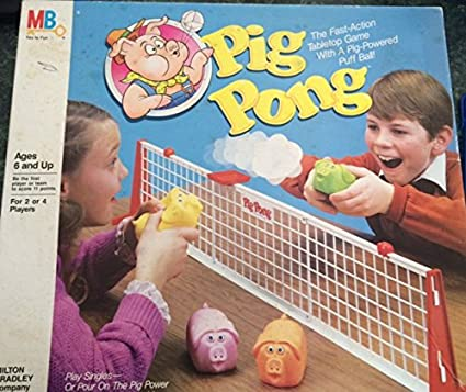 Pig Board Game Pig Pong Board Game