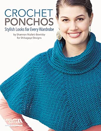 Crochet Ponchos - Kindle edition by Shannon Mullett-Bowlsby. Crafts