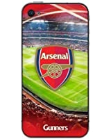 Official ARSENAL Football Club Team 3D Hard Back Case Cover for iPhone 4/4S iPhone + Free Screen Protector + Free UK Delivery