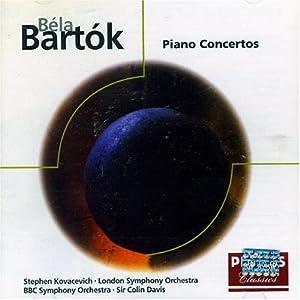 Bartok : les 3 concertos pour piano
