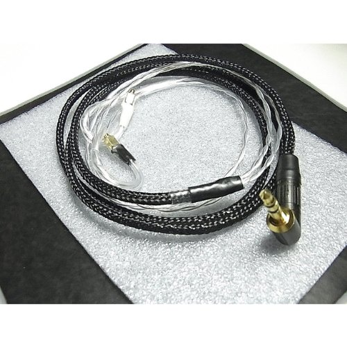 "Effect Audio Studio ""Pearl V2"" Neutrik Black&Clear Shure Upgrade Replacement Cable For Se535 Se425 Se315 Se215 Ue900"
