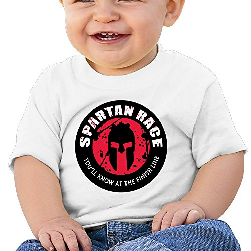 HAOYANG Unisex-Baby/Toddler/Infant Spartan Race T-Shirts (Racing Rivals Cash compare prices)