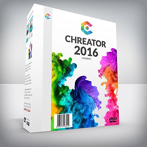 CHREATOR - all in one Designsuite für Webdesign, Grafik,...