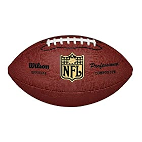 <b>Wilson F1825 NFL Pro Replica Game Football (Official Size)</b>