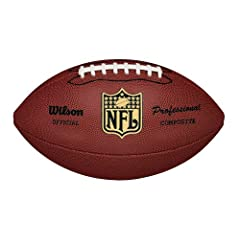 Buy Wilson F1825 NFL Pro Replica Game Football (Official Size) by Wilson