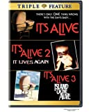 It's Alive Triple Feature (It's Alive/ It's Alive 2: It Lives Again/ It's Alive 3: Island of the Alive) [Import]