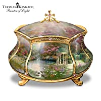 Thomas Kinkade Garden of Prayer Faith Music Box by Ardleigh Elliott by Ardleigh Elliott