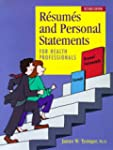 Resumes and Personal Statements for H...