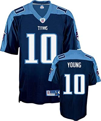 Reebok Tennessee Titans Vince Young Premier Alternate Jersey