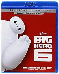 Big Hero 6  (Blu-ray + DVD + Digital HD)