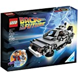 LEGO The DeLorean Time Machine from Back To The Future with Doc Brown & Marty McFly Minifigures and Accessories