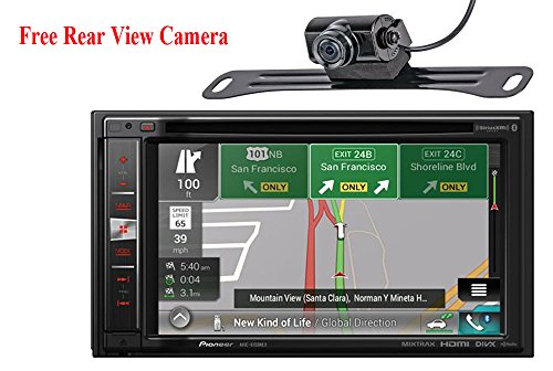 "Pioneer AVIC-6100NEX In-Dash Navigation AV Receiver with 6.2"" WVGA Touchscreen Display"