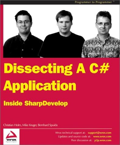 Dissecting a C# Application: Inside SharpDevelop