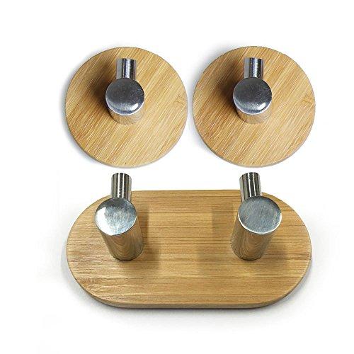 coco-4pcs-adhesive-hooks-bathroom-lavatory-self-adhesive-coat-and-robe-hook-rack-rail-with-single-ho