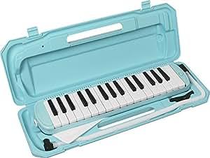 KC 鍵盤ハーモニカ (メロディーピアノ) ライトブルー P3001-32K/UBL