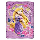 Disney, Rapunzel, Tangled Magic 46-Inch-by-60-Inch Micro-Raschel Blanket by The Northwest Company