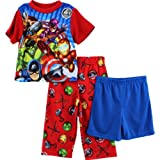 Super Hero Squad Toddler Red 3 pc Pajamas 21SQ025