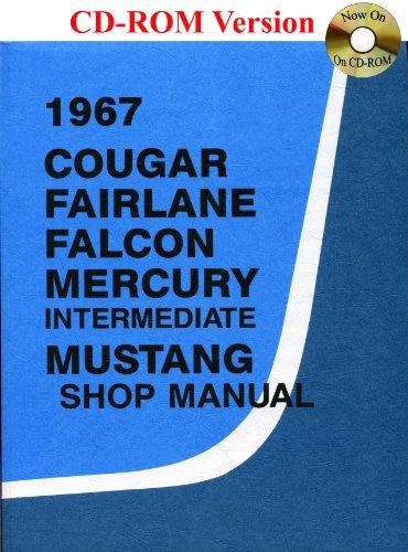 1967 Cougar, Fairlane, Falcon, Mercury, Mustang Shop Manual front-168081