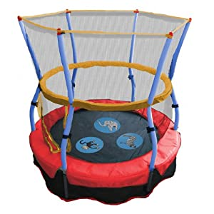Skywalker Trampolines 48 In. Round Zoo Adventure Bouncer with Enclosure from Skywalker