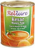 Rellure Kesar Mango Pulp, 30-Ounce Cans (Pack of 6)