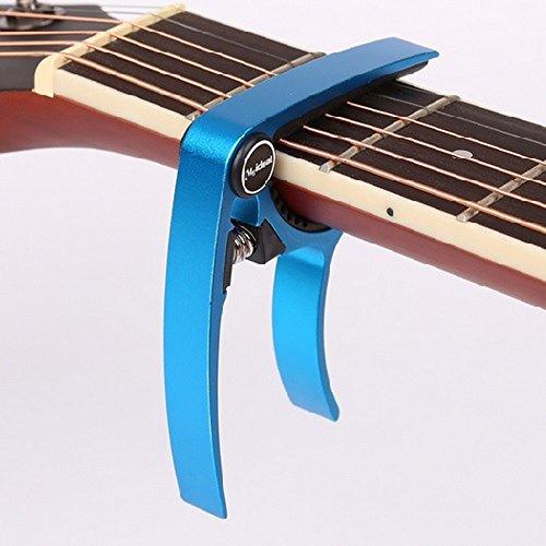 2015ǯ ��ǥ� ������ ���ݥ����� Guitar Capo �ե����� ���쥭 �� 0.58 mm 0.71 mm 0.81 mm �ԥå� ��2�� �դ� (4.���� �֥롼)