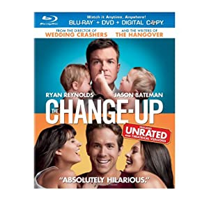 The Change-Up Movie on Blu-ray dvd digital combo