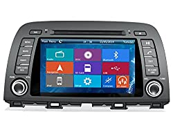 See Crusade Car DVD Player for Mazda 6/ Atenza 2013- Support 3g,1080p,iphone 6s/5s,external Mic,usb/sd/gps/fm/am Radio 8 Inch Hd Touch Screen Stereo Navigation System+ Reverse Car Rear Camara + Free Map Details