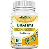 Morpheme Bacopa (Brahmi) 500mg Extract 60 Veg Caps