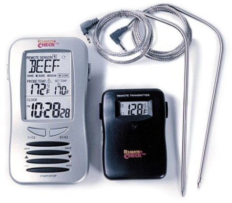 New Maverick ET-7 Remote-Check Wireless Thermometer With 2 Probes