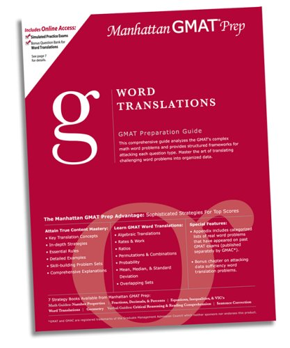 Manhattan gmat prep word translations