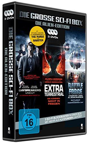 Die große Sci-Fi Box - Die Alien-Edition (3 Disc-Set)