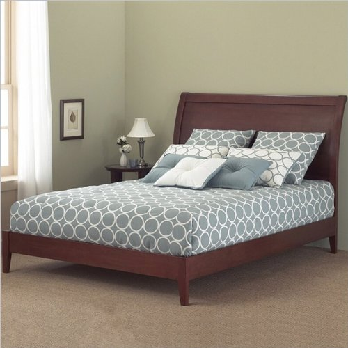 Fashion Bed Group Java Bed with Rails - King - Mahogany