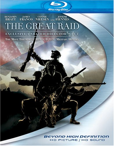 Cover art for  The Great Raid (Director's Cut) [Blu-ray]