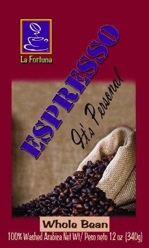 La Fortuna Espresso Roast Whole Coffee Beans