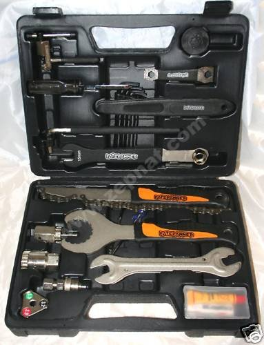 Fat Spanner 25 Piece Bicycle Tool Kit