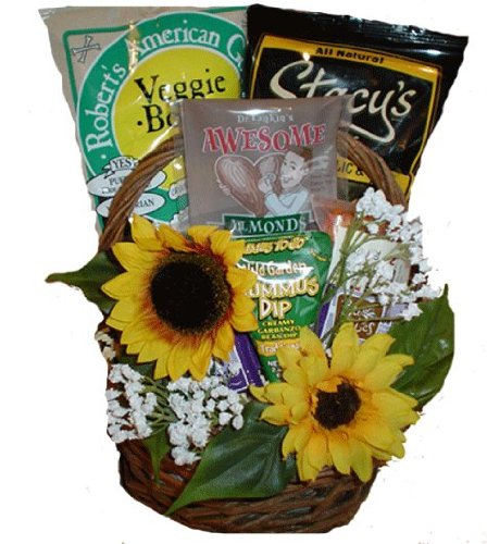 Thank You Healthy Sentiments Basket