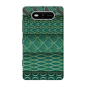 Mobile Back Cover For Nokia Lumia 820 (Printed Designer Case)