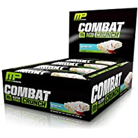 MusclePharm Combat Crunch Protein Bar Birthday Cake, 12 Bars