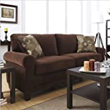 Serta CR-43537PB Trinidad Collection Sofa - Chocolate